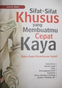 Junaidi Khab's Cover Sifat-Sifat Khusus yang Membuatmu Cepat Kaya